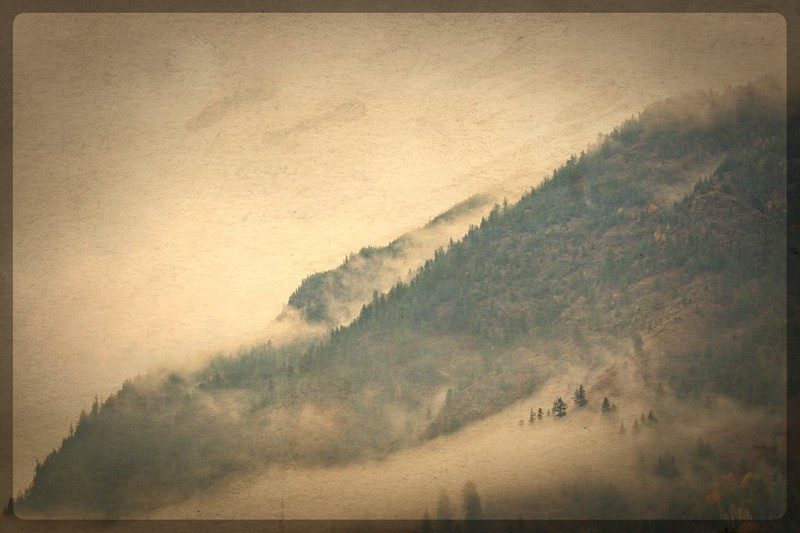 Mountain in Vintage