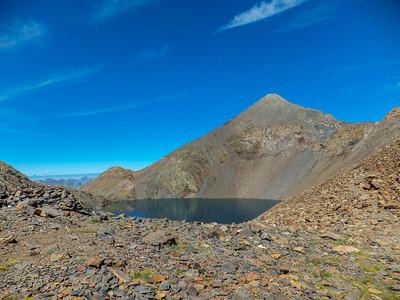 Ascensión al Pico Tebarray