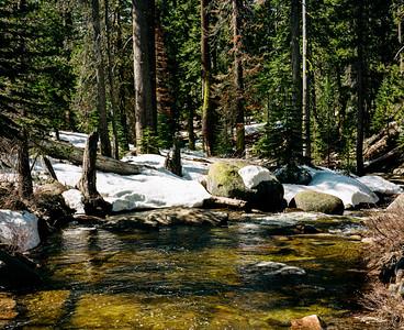 Snow Creek, Yosemite National Park, CA