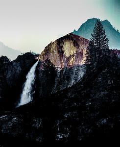 Half Dome/Yosemite Falls
