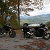 Ducati Multistrata and Kawasaki Concours.