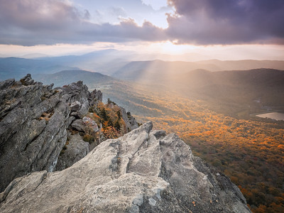 Grandfather Mountain Sunset..