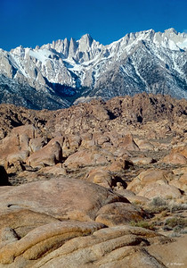 Mt Whitney, Sierra Nevada, CA