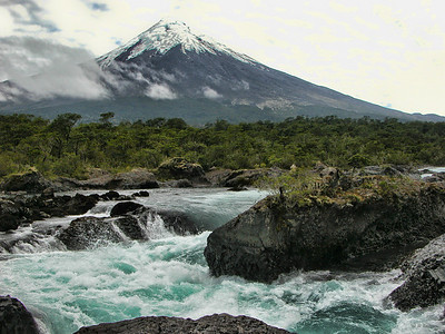 Under the Osorno Volcano, Chile