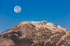Moonset Over Mammoth Mountain 2