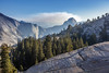 Olmsted Point View Towards Half Dome