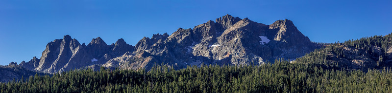 The Sierra Buttes Panorama