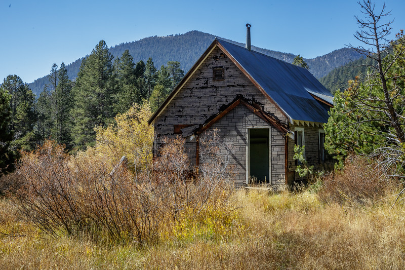 Abandoned Sierra House