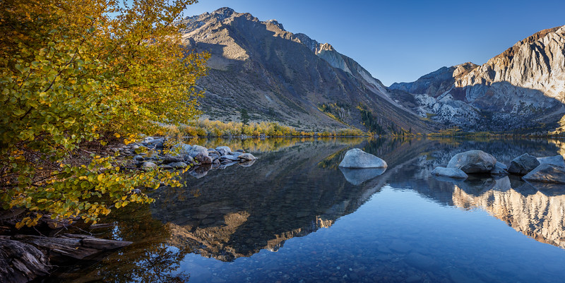 Convict Lake Fall Reflections 1
