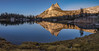 Upper Cathedral Lake Reflection