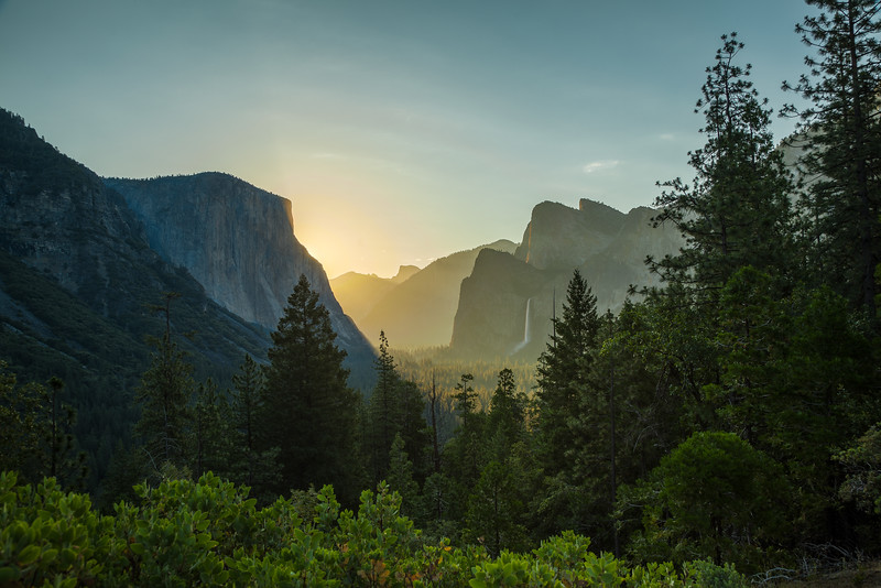 Yosemite Tunnel View Sunrise 3