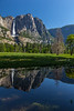 Yosemite Falls Reflection 2