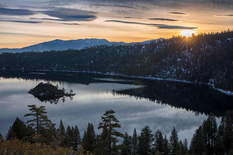 Dawn at Emerald Bay