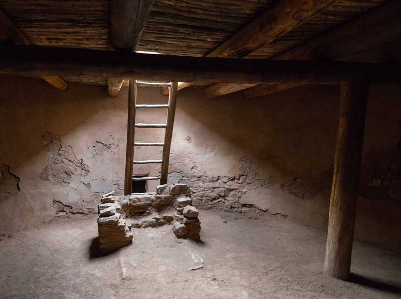 Inside the Kiva