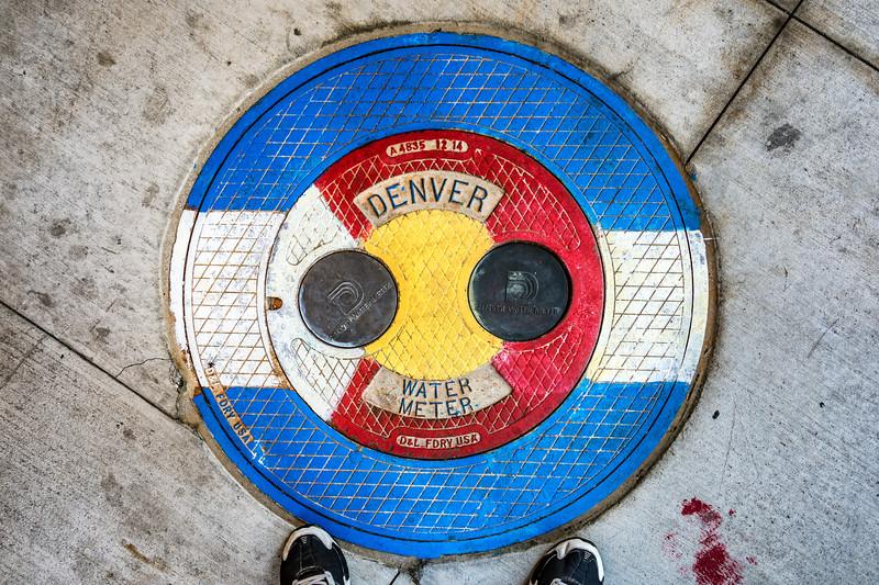 Colorado manhole cover