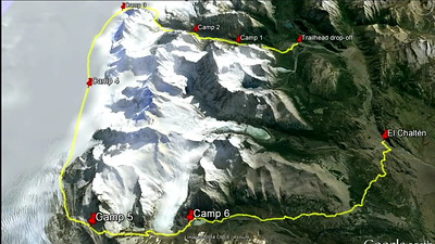 Patagonia 2014 - Google Earth Fly Through