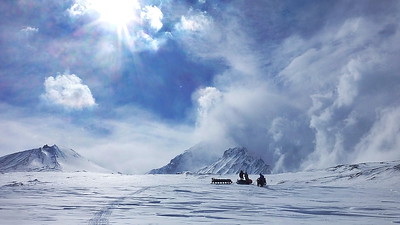 Kamchatka Ski Touring Expedition 2013