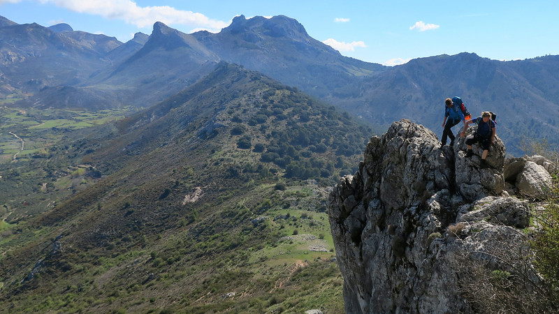 Scrambling Adventures in Andalucia