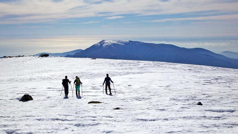 Snowshoeing in La Alpujarra January 2017