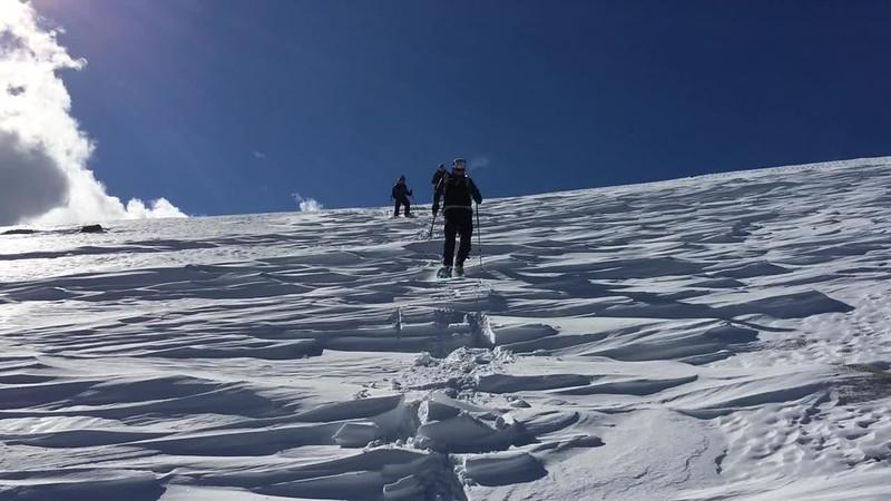 Snowshoeing Las Alegas, Sierra Nevada, 17 Jan 2015