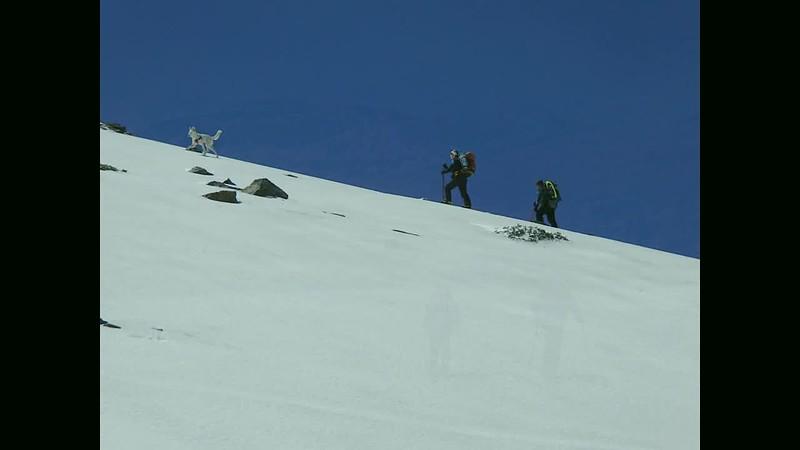 Ski touring Cerro de Caballo, Sierra Nevada April 2014