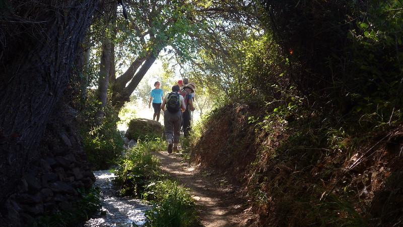 Walking around Lanjarón in the Alpujarras