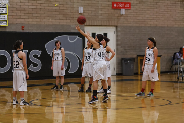 2015 MVHS Girls JVB BB vs Mountain Pointe