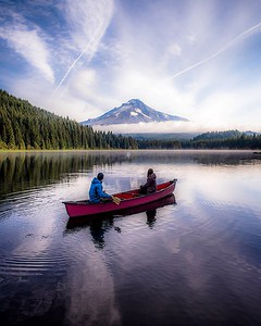 Paddles at Mount Hood