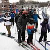 Many enjoy Wachusett Mountain Ski Area in Princeton on Friday, Jan. 10, 2020. The line for the lift up the mountain. SENTINEL & ENTERPRISE/JOHN LOVE