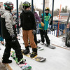 Many enjoy Wachusett Mountain Ski Area in Princeton on Friday, Jan. 10, 2020. Some snowbaorders get ready to get on the lift to go up the mountain. SENTINEL & ENTERPRISE/JOHN LOVE