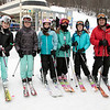 Many enjoy Wachusett Mountain Ski Area in Princeton on Friday, Jan. 10, 2020. Getting ready to hit the slopes is, from left, Gabby Palermo, 12, Olivia Mitchell, 12, Julia Fiiore, 11, Lucy Romeo, 11, Vanessa Davis, 11, and Colin Mitchell. SENTINEL & ENTERPRISE/JOHN LOVE