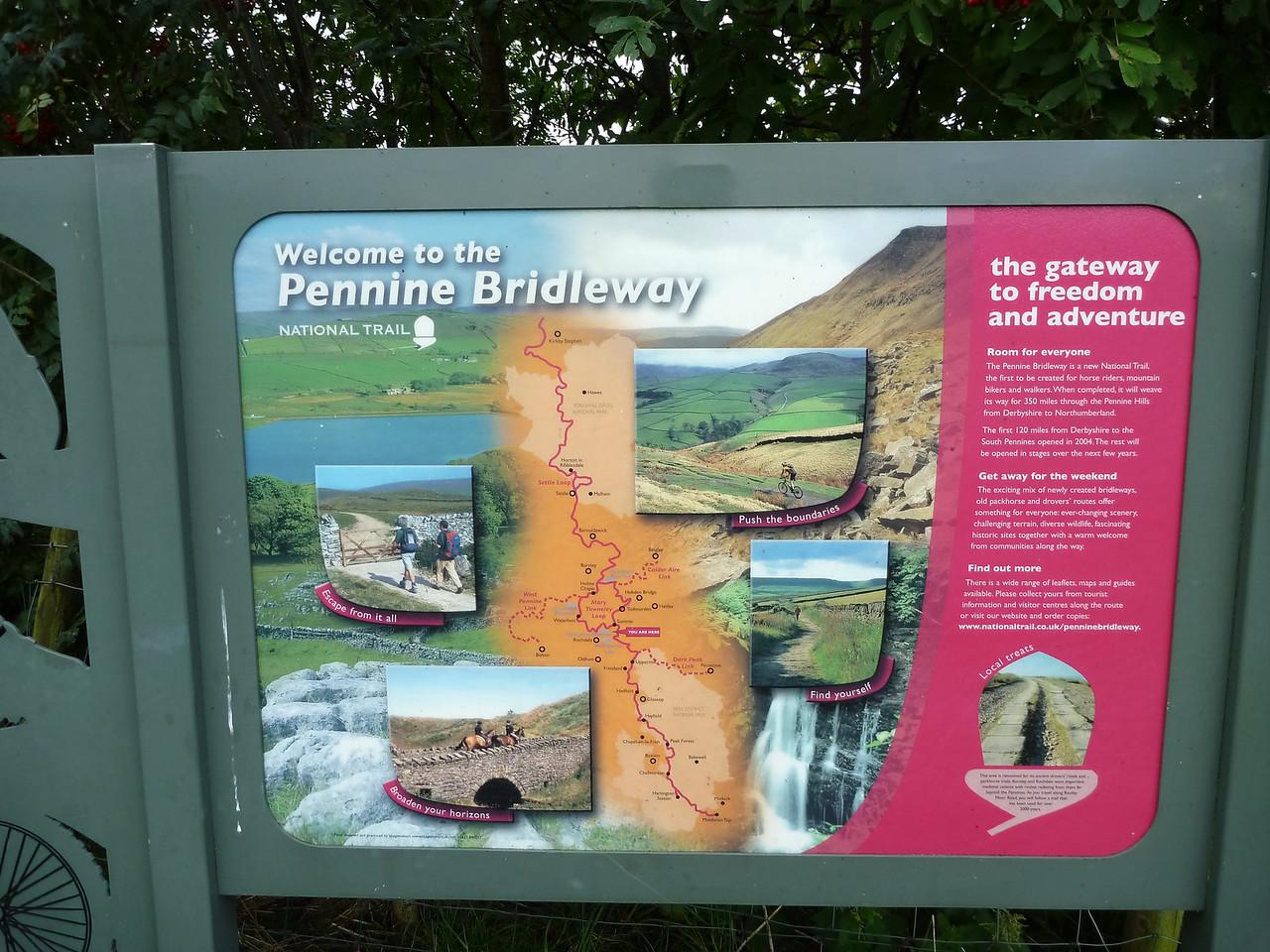 Start of ride at Watergrove reservoir