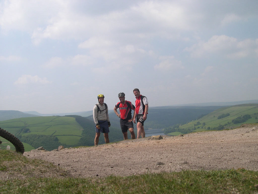 me ray and gaz in the peaks