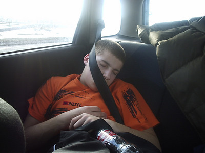 its been a long weekend , or has dad strangled him....lee