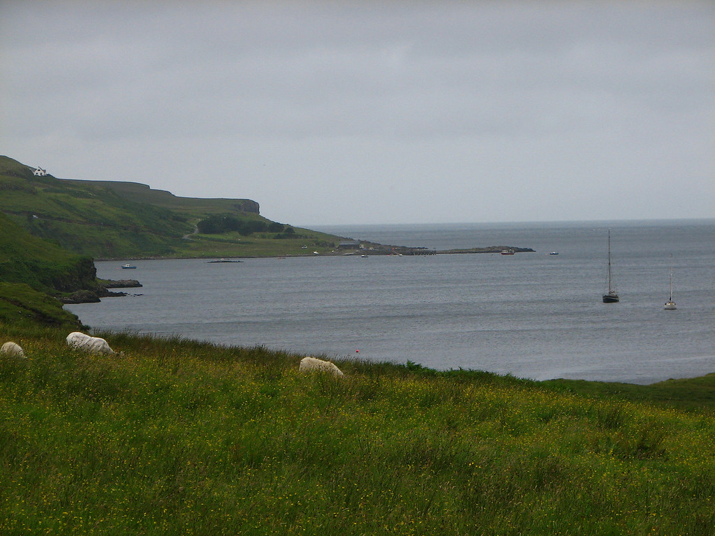 we started the ride at dunvegan , this photo was taken near cobost