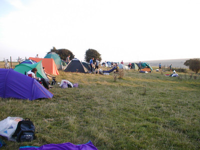 camp site at truileigh