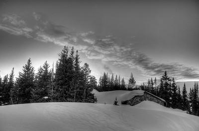 Skinner in Snow
