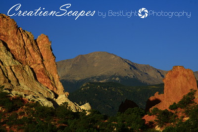 Garden of the gods - Pikes Peak Colorado Springs, Colorado