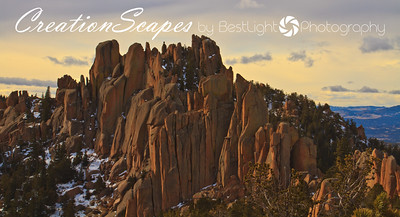 The Crags - north side of Pikes Peak Colorado