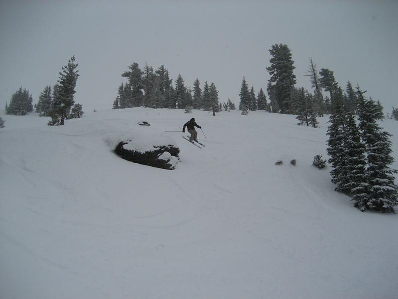 Matt Jeannes taking off.