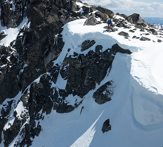 Colchuck Peak, May 27, 2012