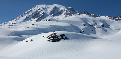 Mt. Rainier from southeast of the Muir Snowfield