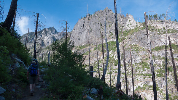 Snow Creek Wall, July 1, 2007