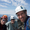 The three of us on top of Forbidden Peak.