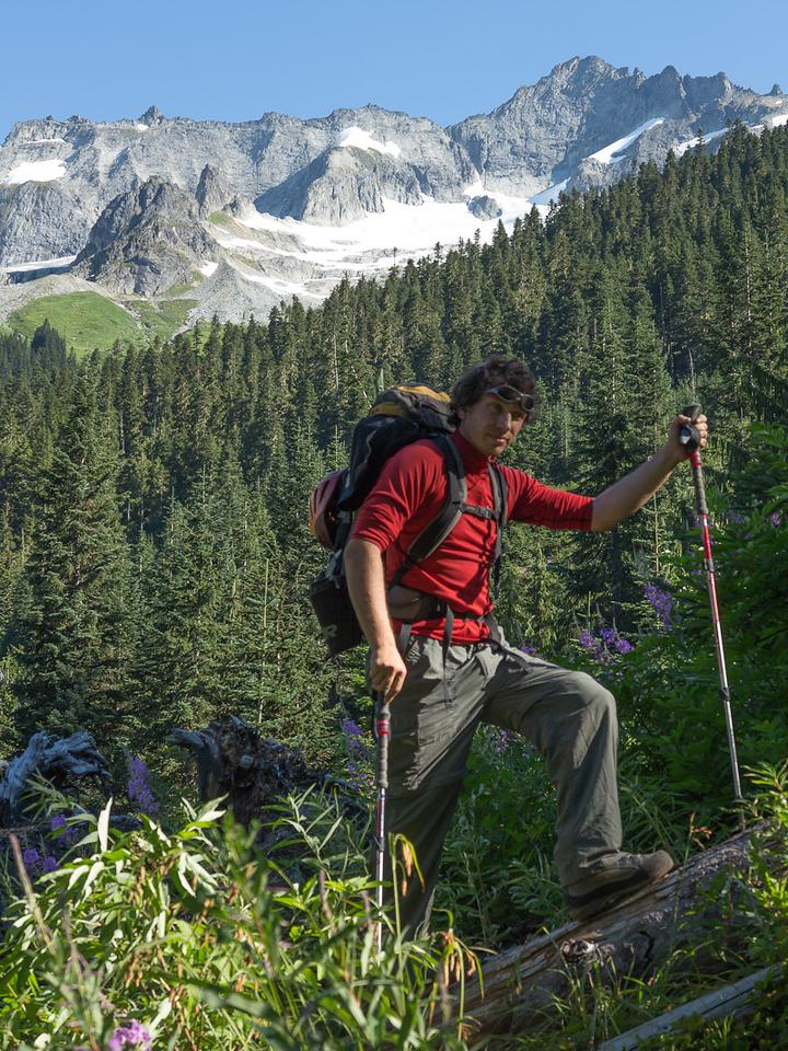 Alex Bendetov, international climber.