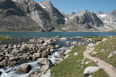 Upper Titcomb Lake.