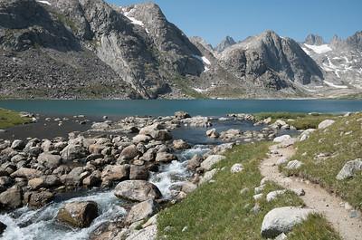 Upper Titcomb Lake.