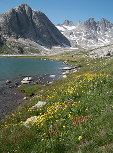 Moving camp toward the head of Titcomb Basin.