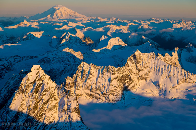 Mt. Redoubt and the Neacola Mountains, Alaska