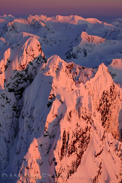 The South flanks of Organ Mountain, Chugach Mounains, Alaska